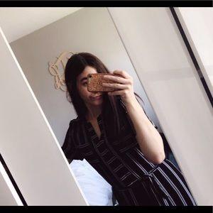 black/white striped jumper. NEVER WORN!!